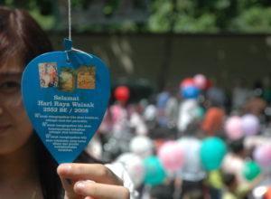 Waisak 2008, Samarinda