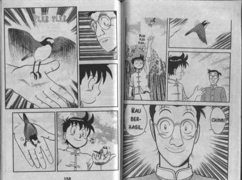 A page of comic book.